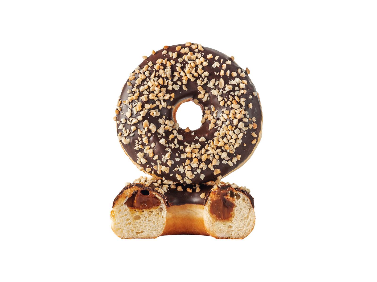 Карамельный пончик