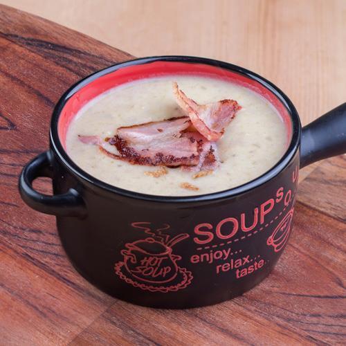 Суп Chieese&Bacon