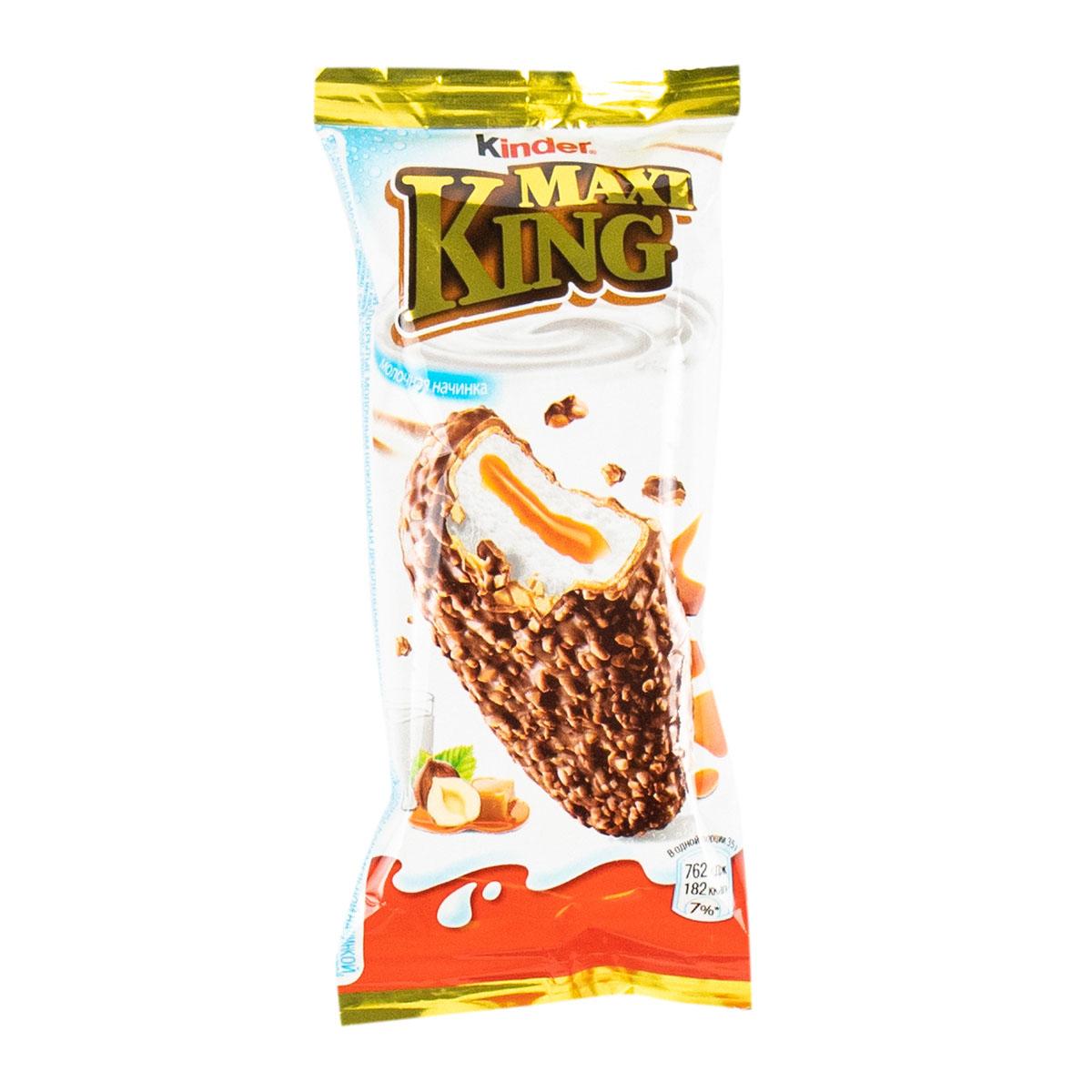 Kinder Maxi King орехи-карамель