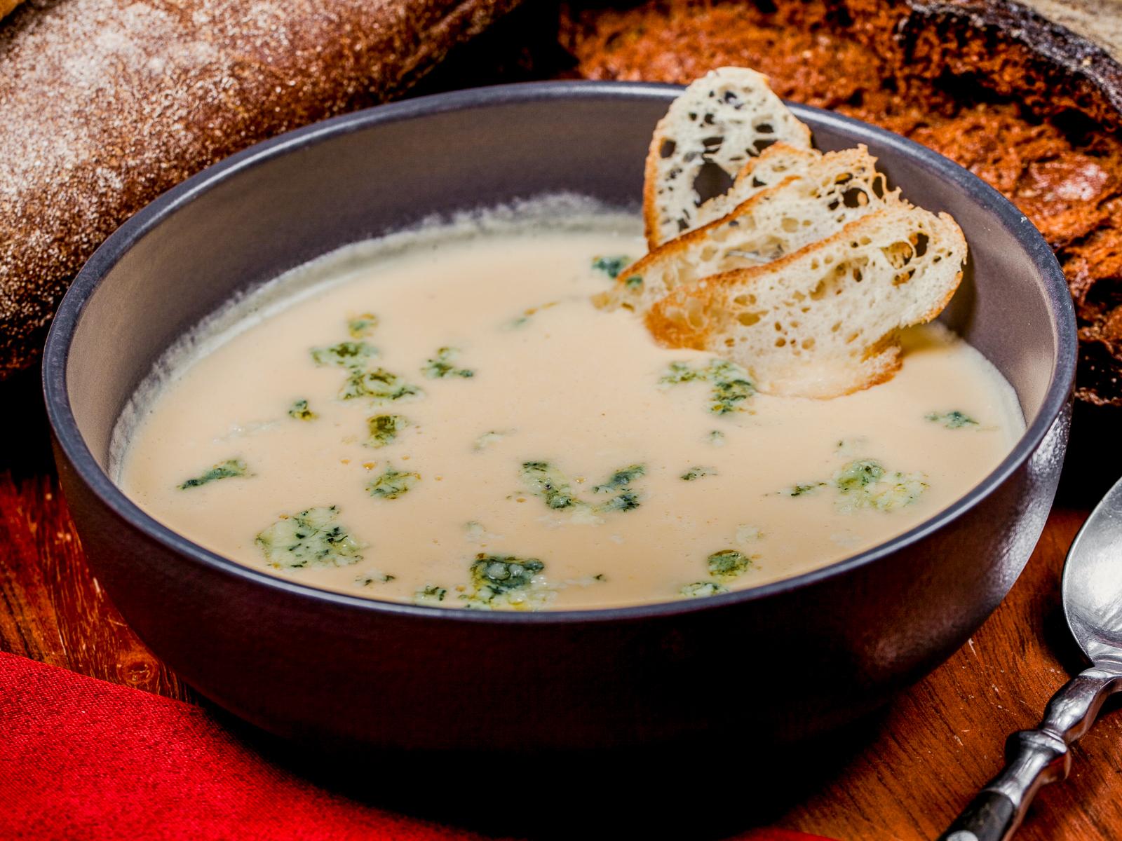 Суп Сырный с дорблю