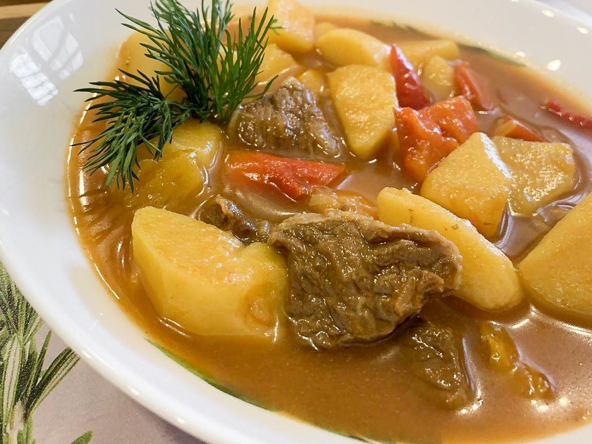 Немецкий густой суп
