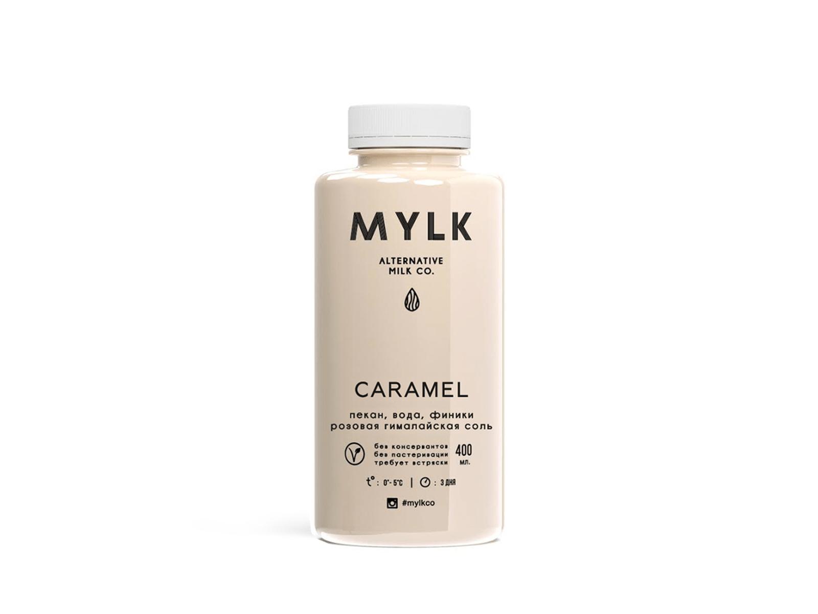 Ореховое молоко из пекана CARAMEL