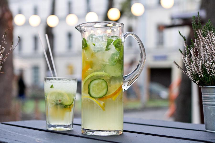 Классический лимонад с огурцом, 1л