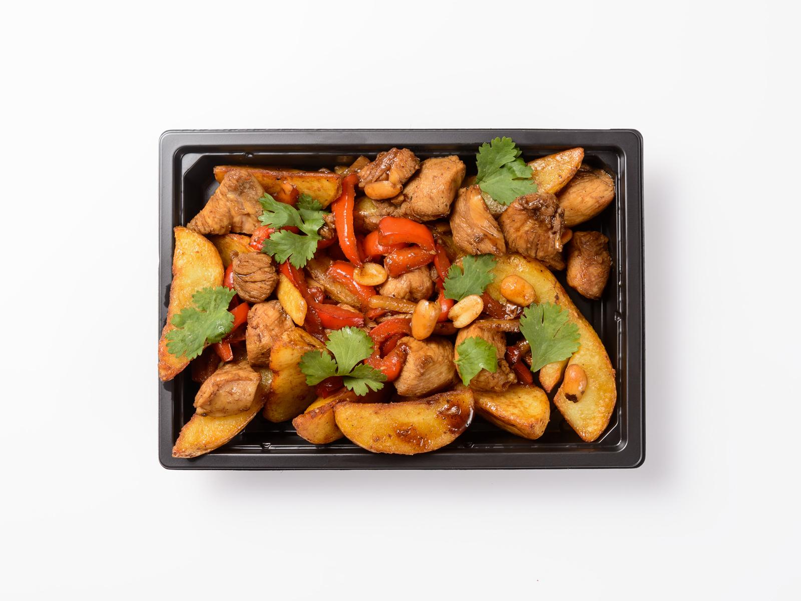 Курица в соусе Гунбао