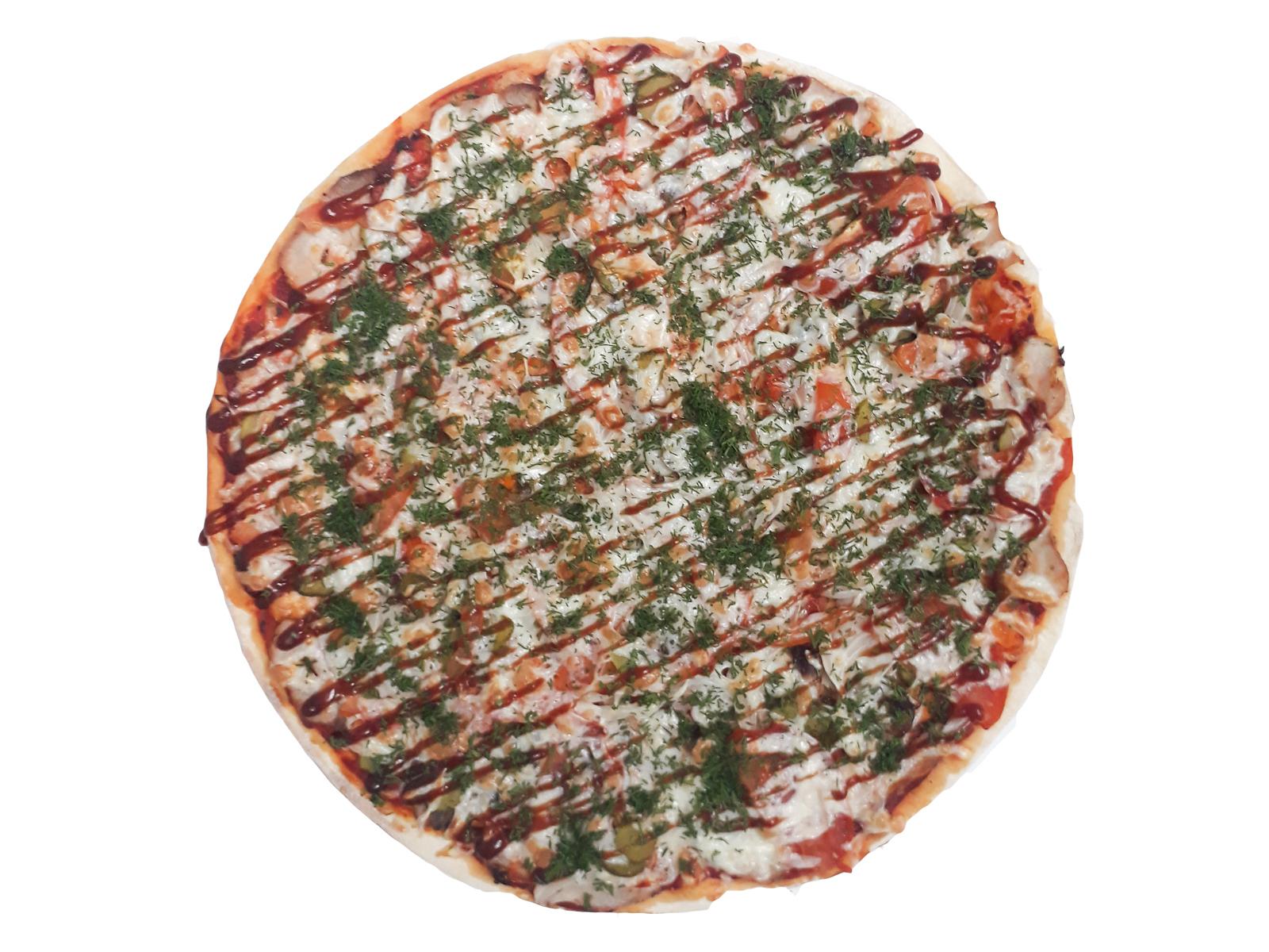 Пицца Шашлычная №1