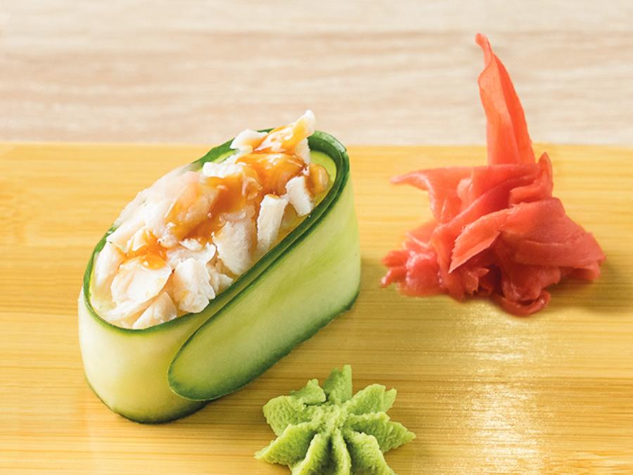 Каппа-суши с курицей