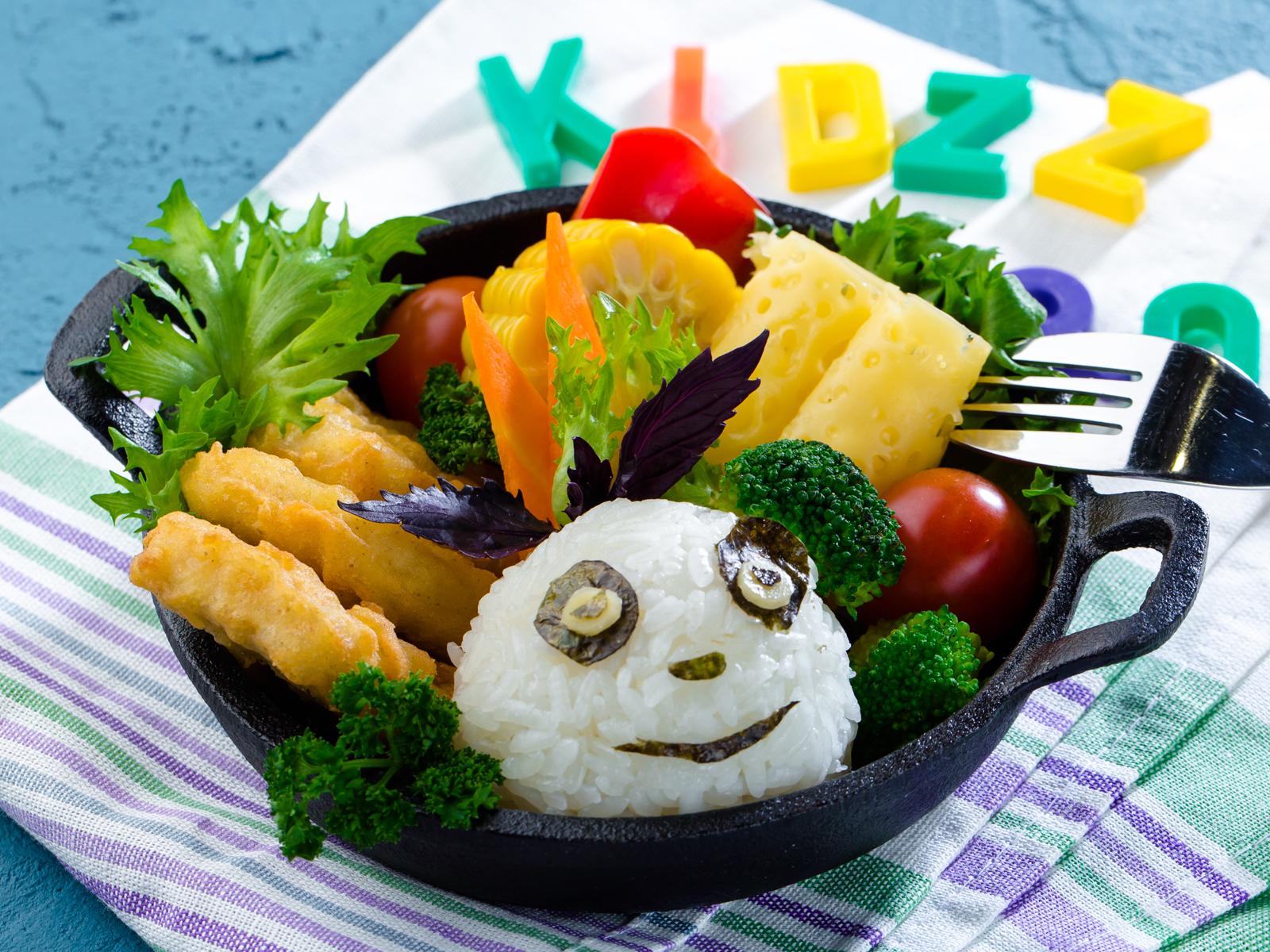 Обед Забавная панда