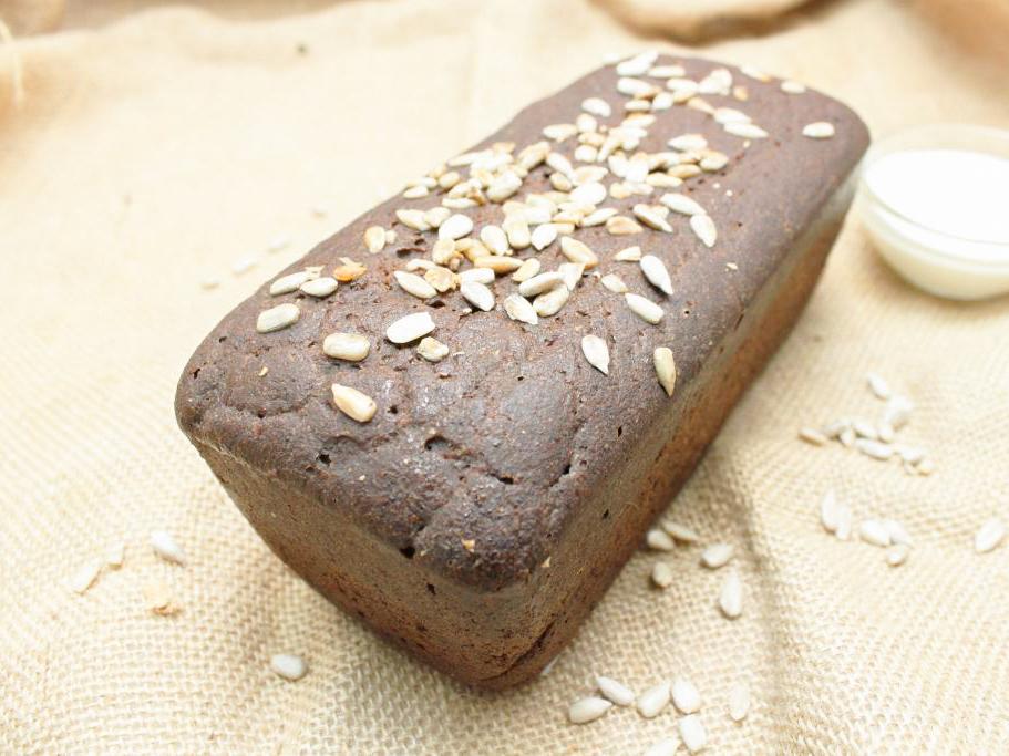 Булка черного хлеба