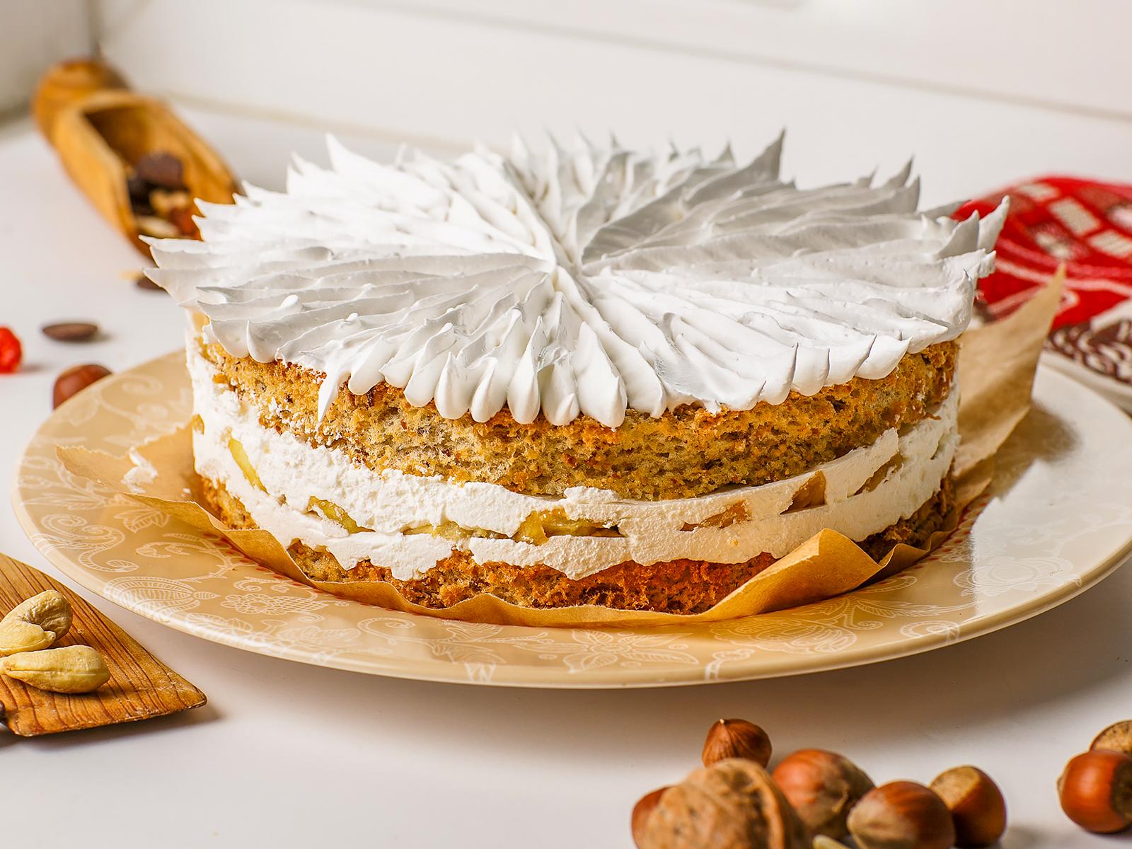 Торт Французский яблочный