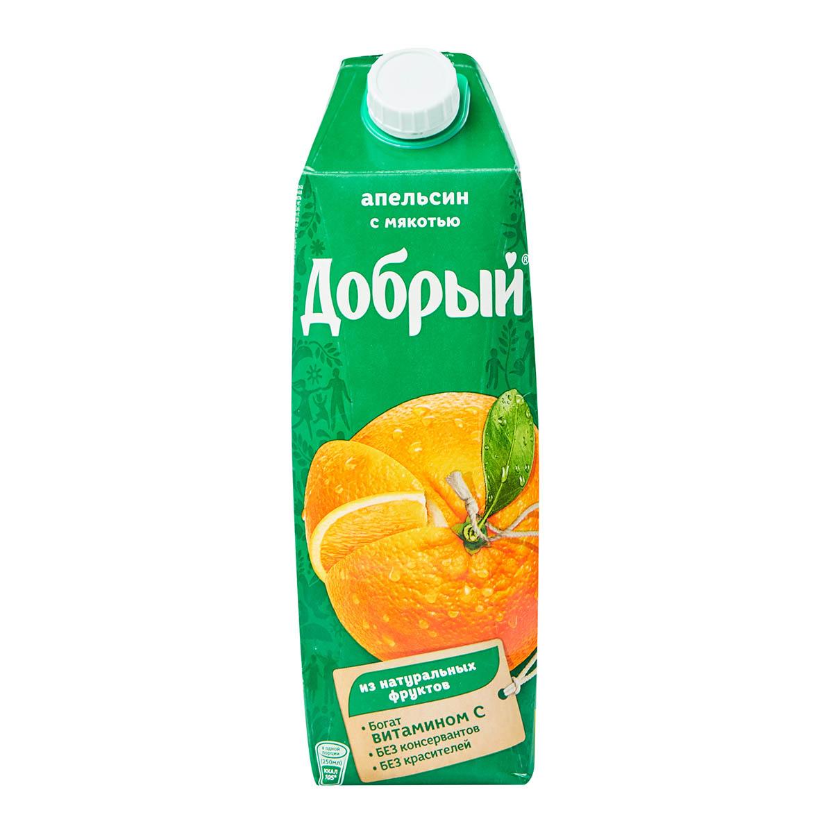 «Добрый» нектар апельсин