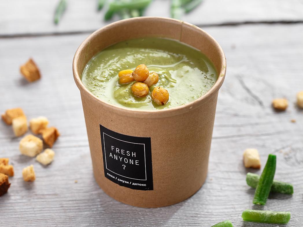 Суп–крем из брокколи