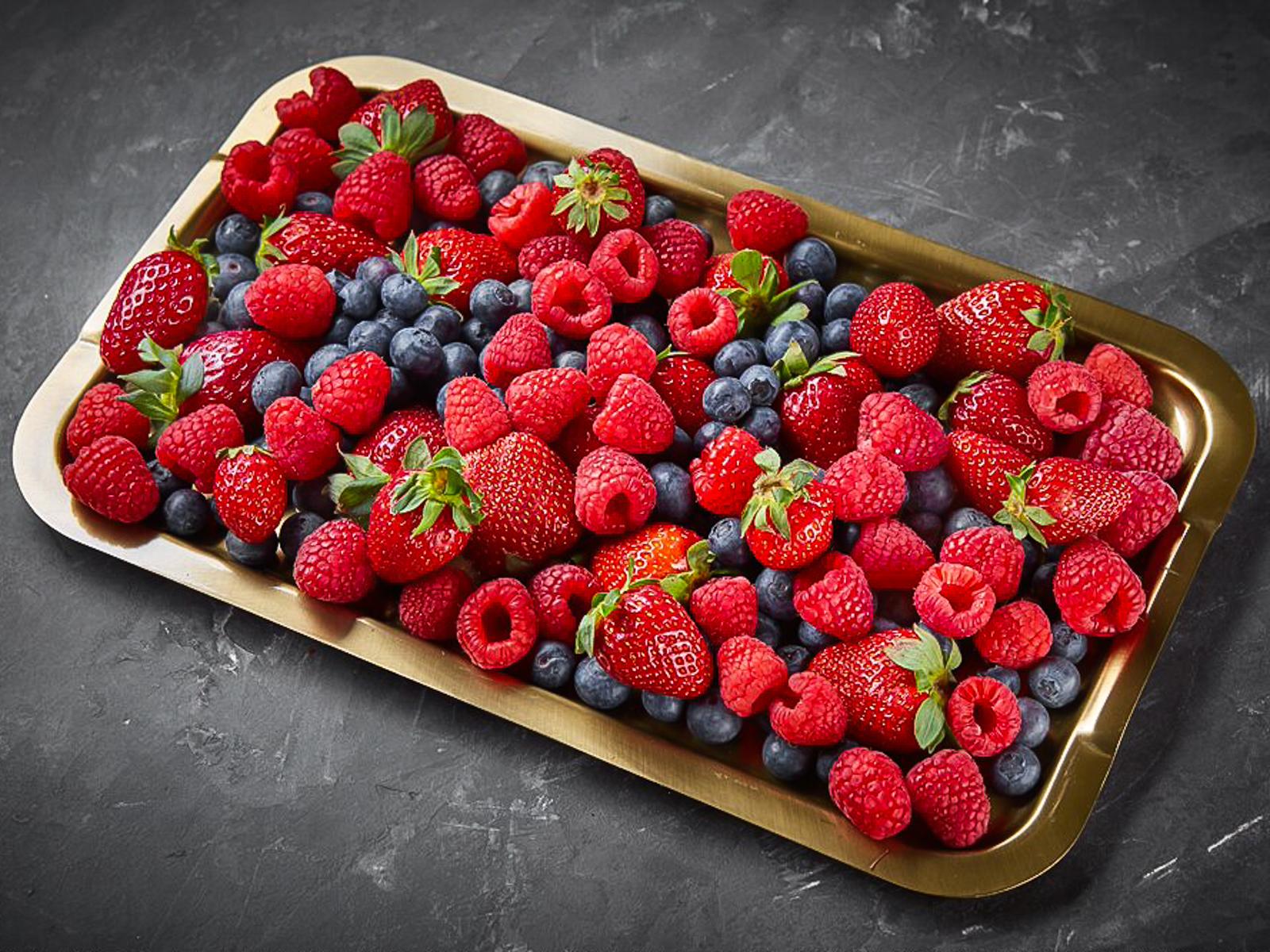 Микс из свежих ягод