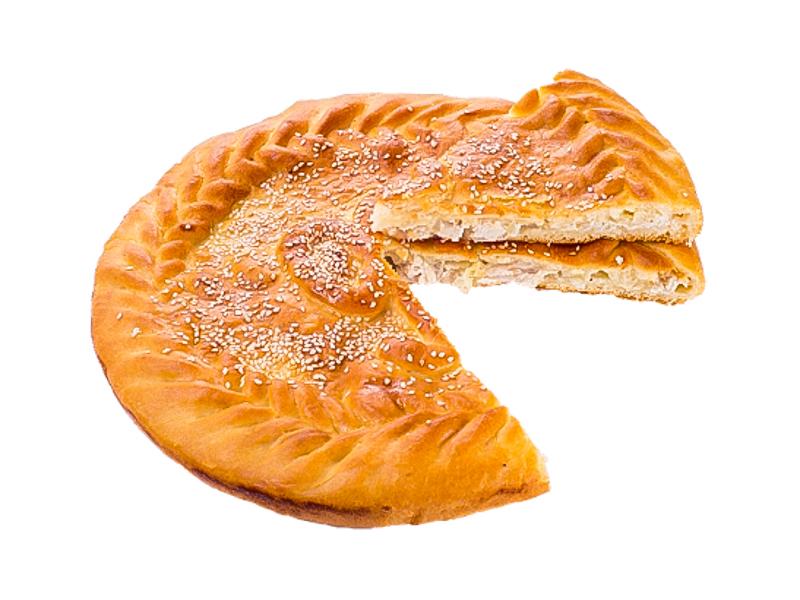 Пирог с филе и сыром