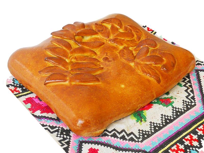 Пирог с грибами и капустой на дрожжевом тесте