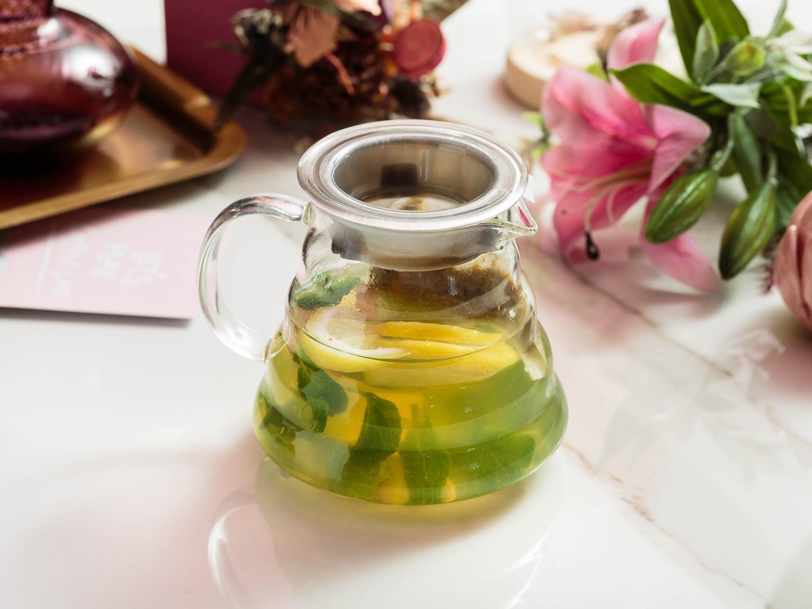Чай ромашковый с имбирем