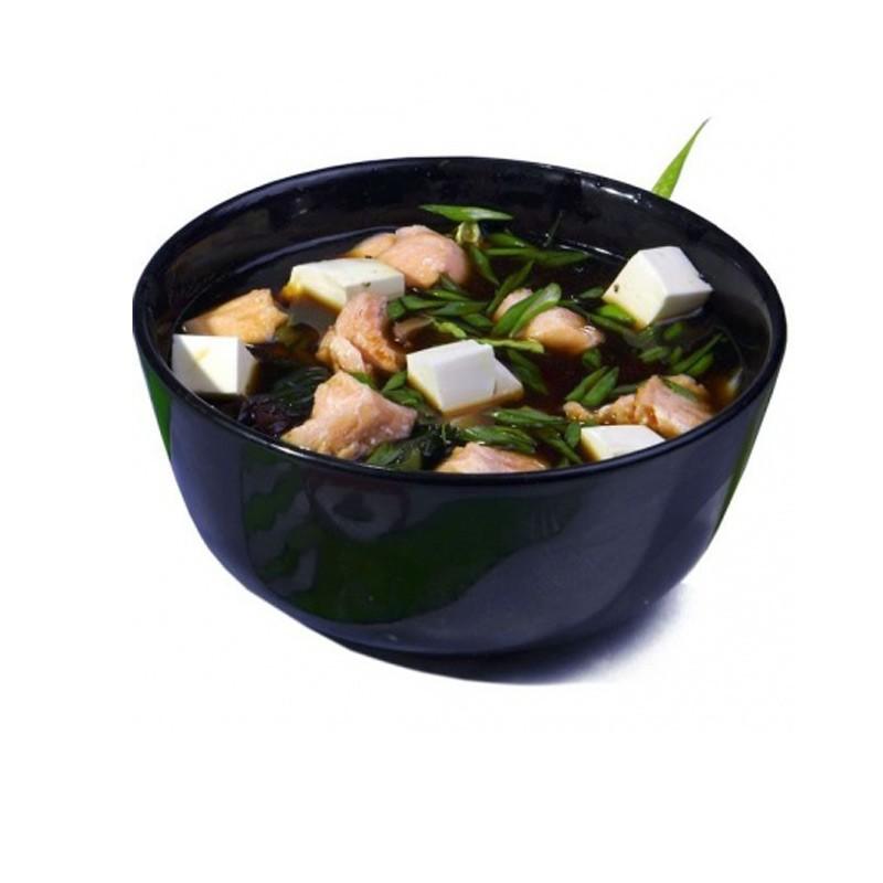 Мисо суп с грибами шиитаки