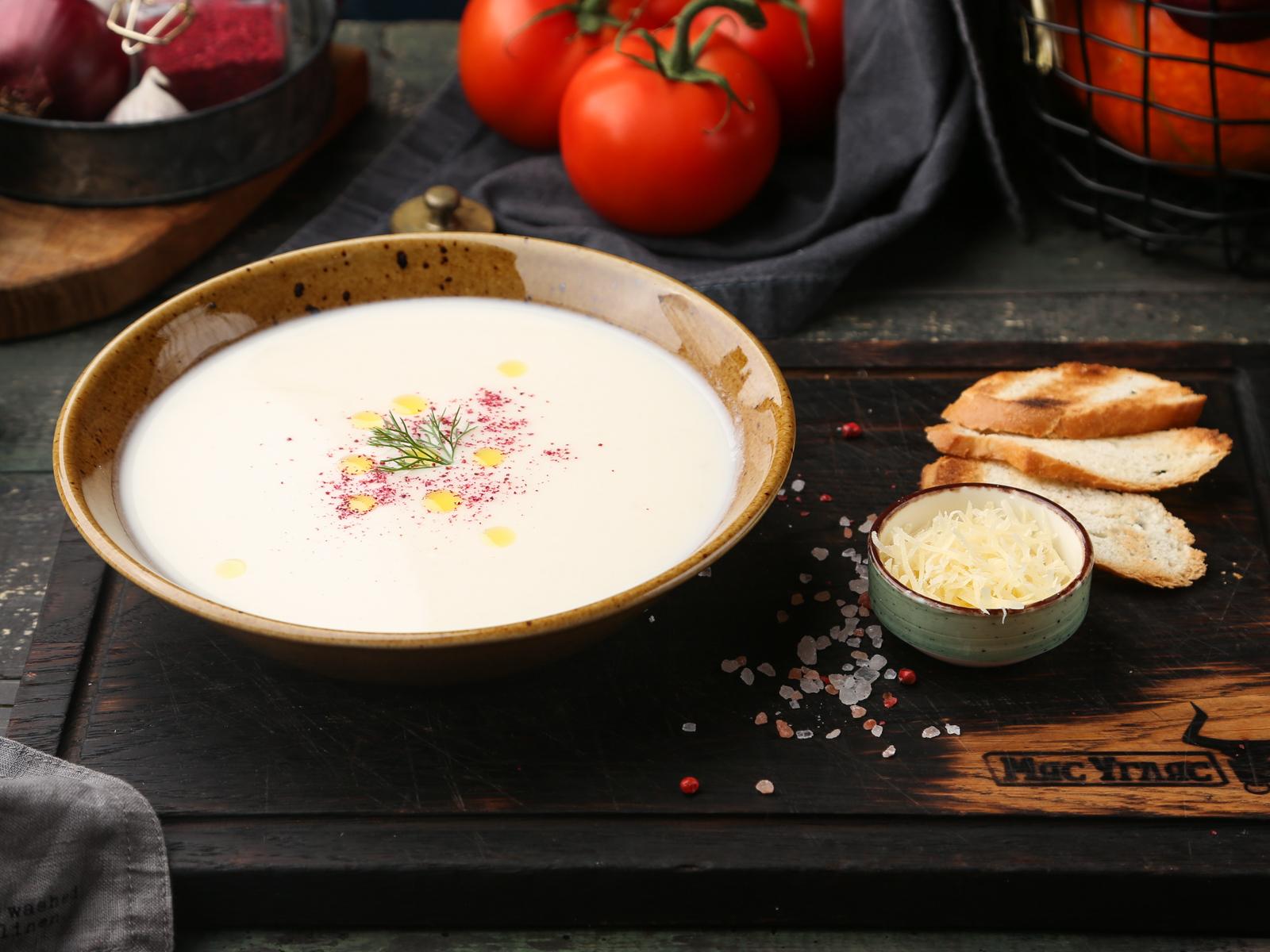Суп-крем из цветной капусты