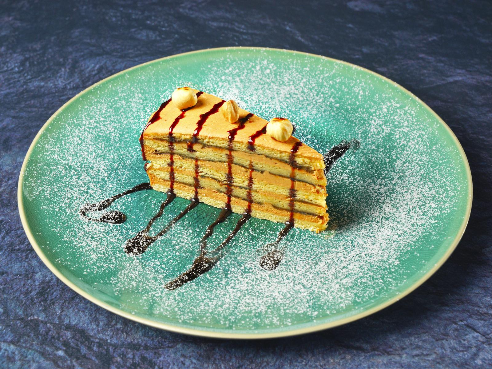 Торт медово-банановый
