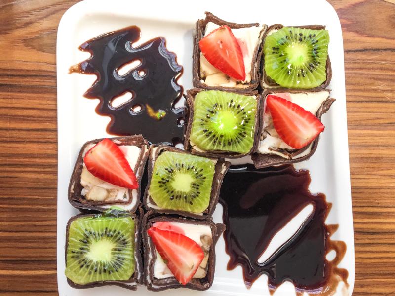 Шоколадные роллы