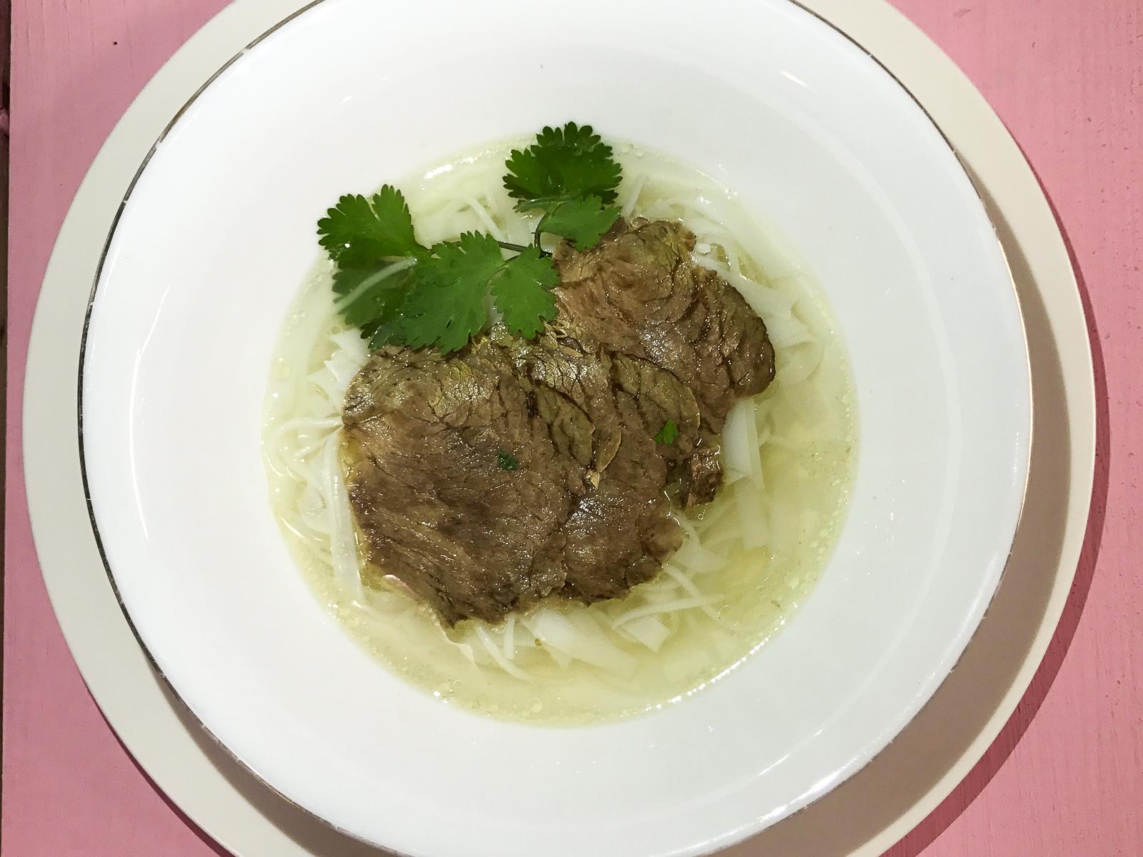 Супчик Фобошка с рисовой лапшой