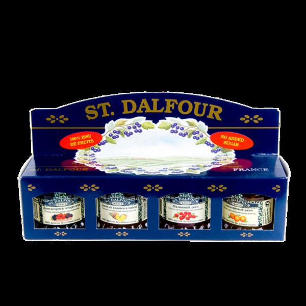 Джем St. Dalfour набор из 4 видов