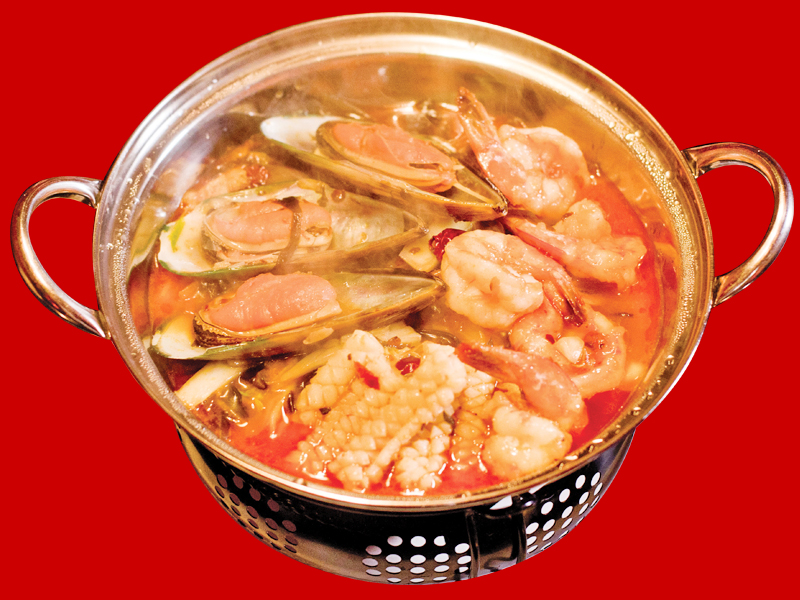 Суп Дю Динь Го с морепродуктами