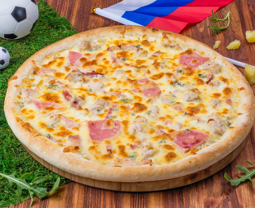 Пицца Бомбардир фирменная