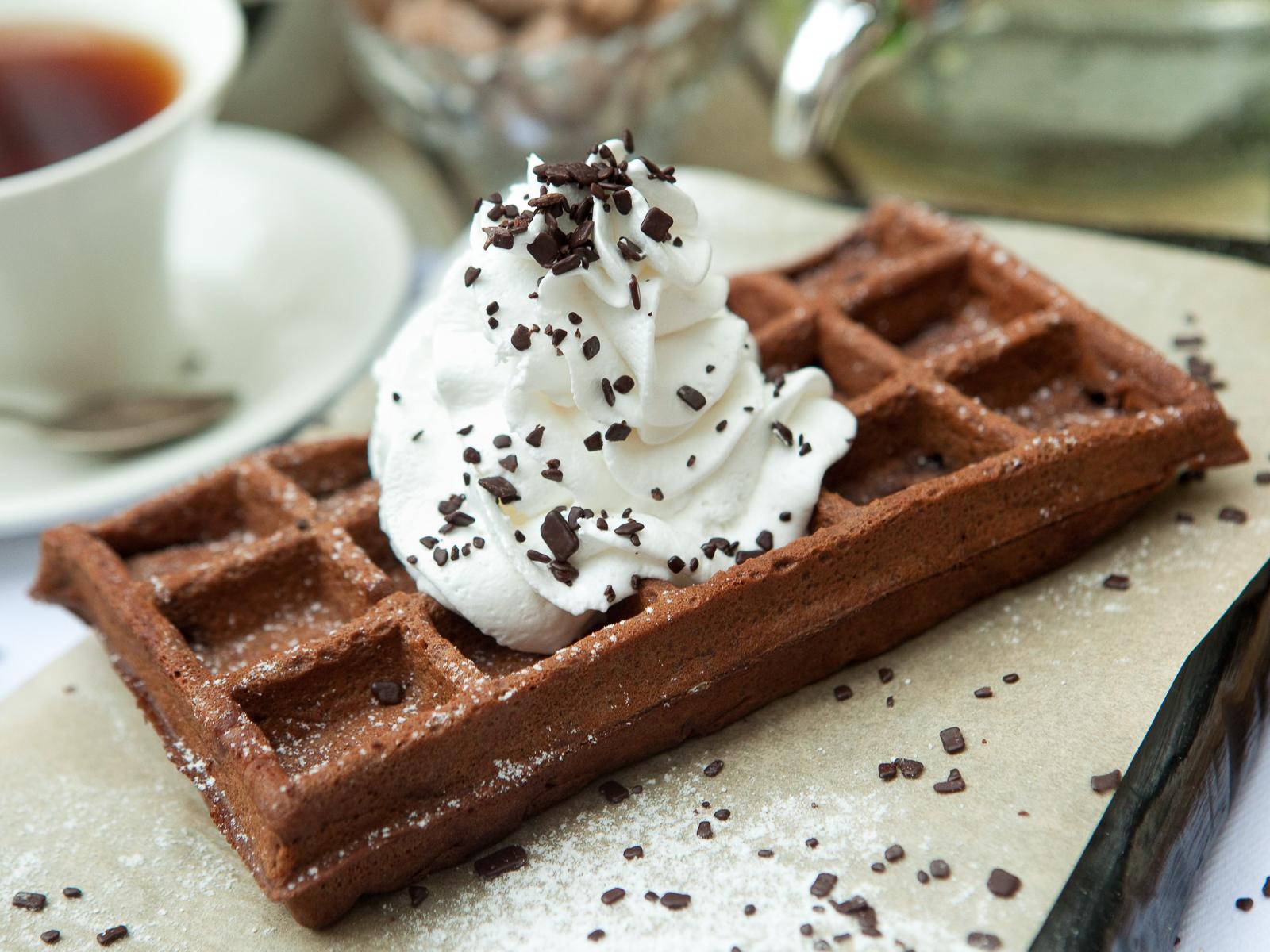 Шоколадная вафля Фондан