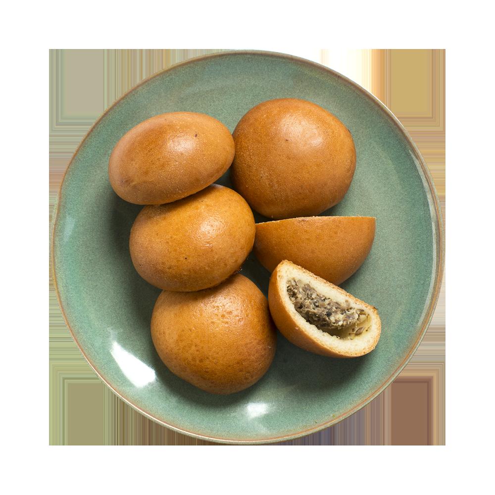 Пирожки домашние с грибами от шеф-пекаря АВ