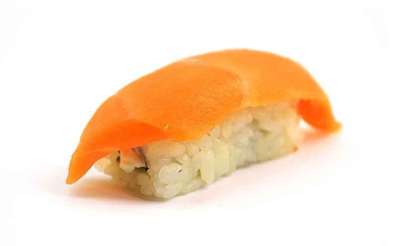 Суши нигири Сливочный лосось