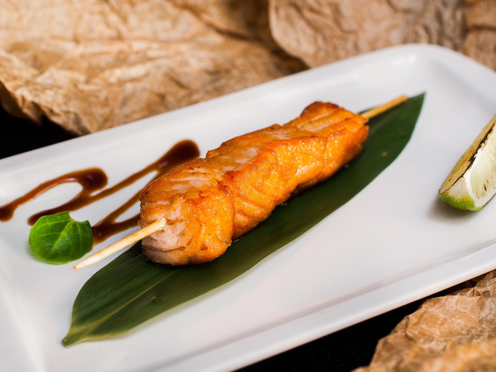 Шашлычок из лосося