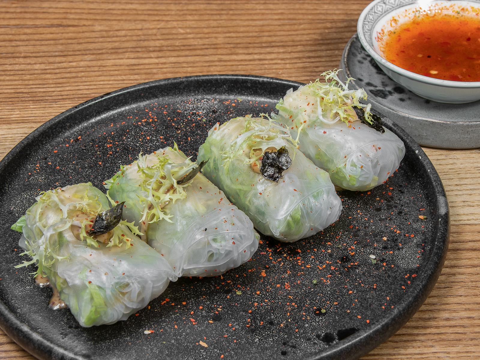 Вьетнамские роллы с креветками