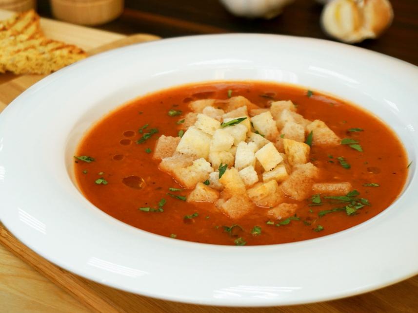 Суп Томатный с рыбой