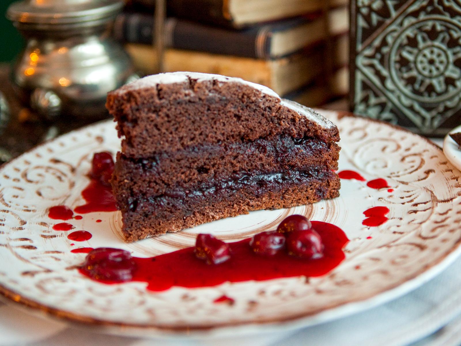 Восхитительный шоколадный торт