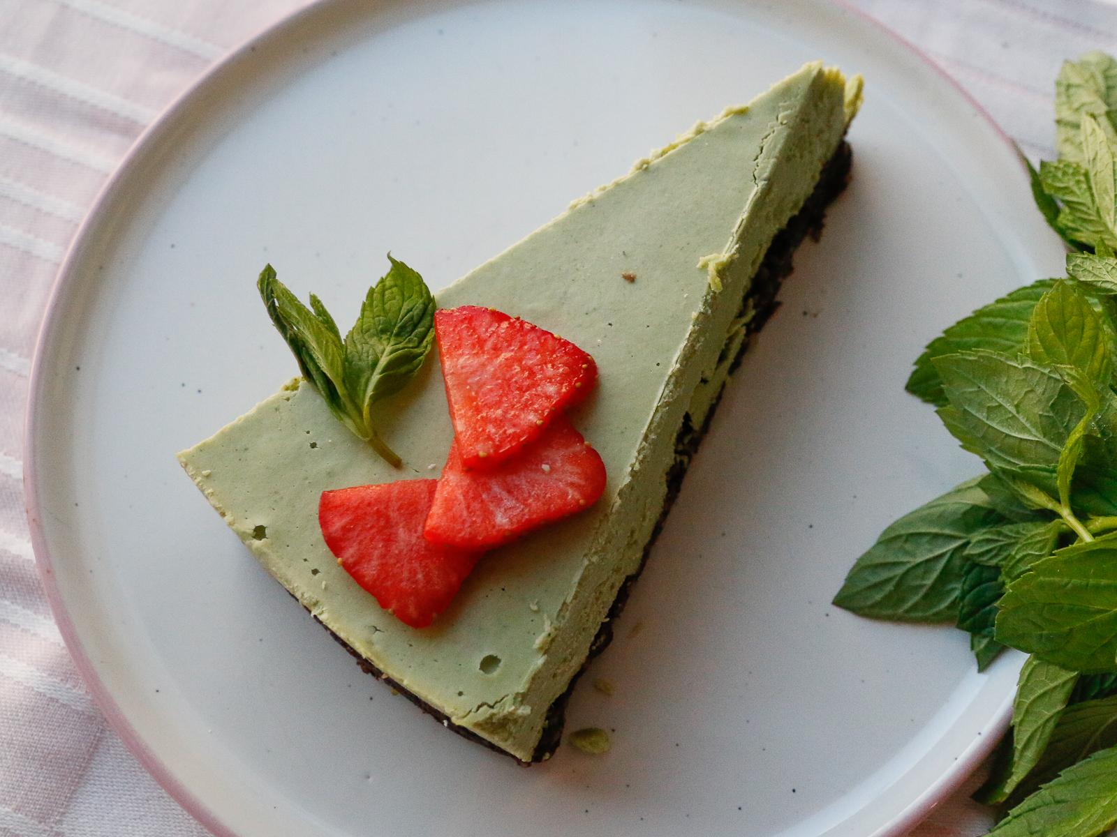 Мятный роу торт