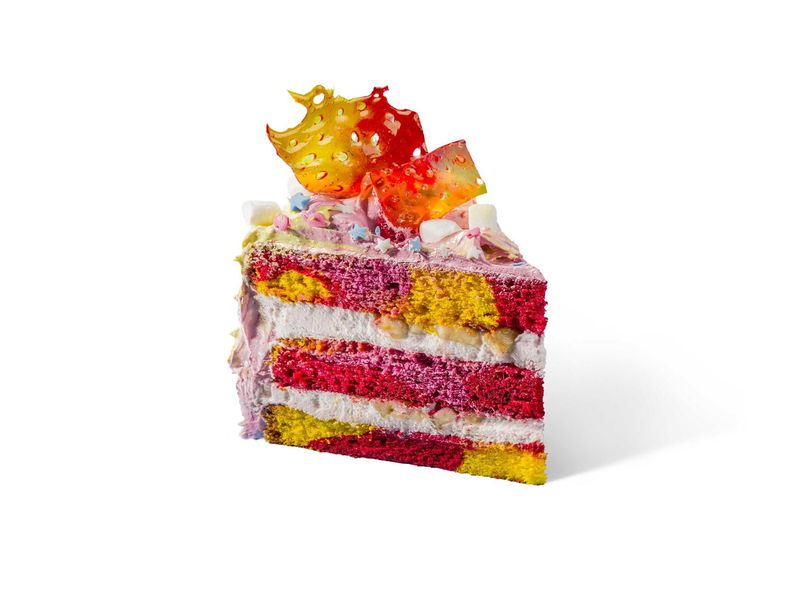 Торт Клубника-банан