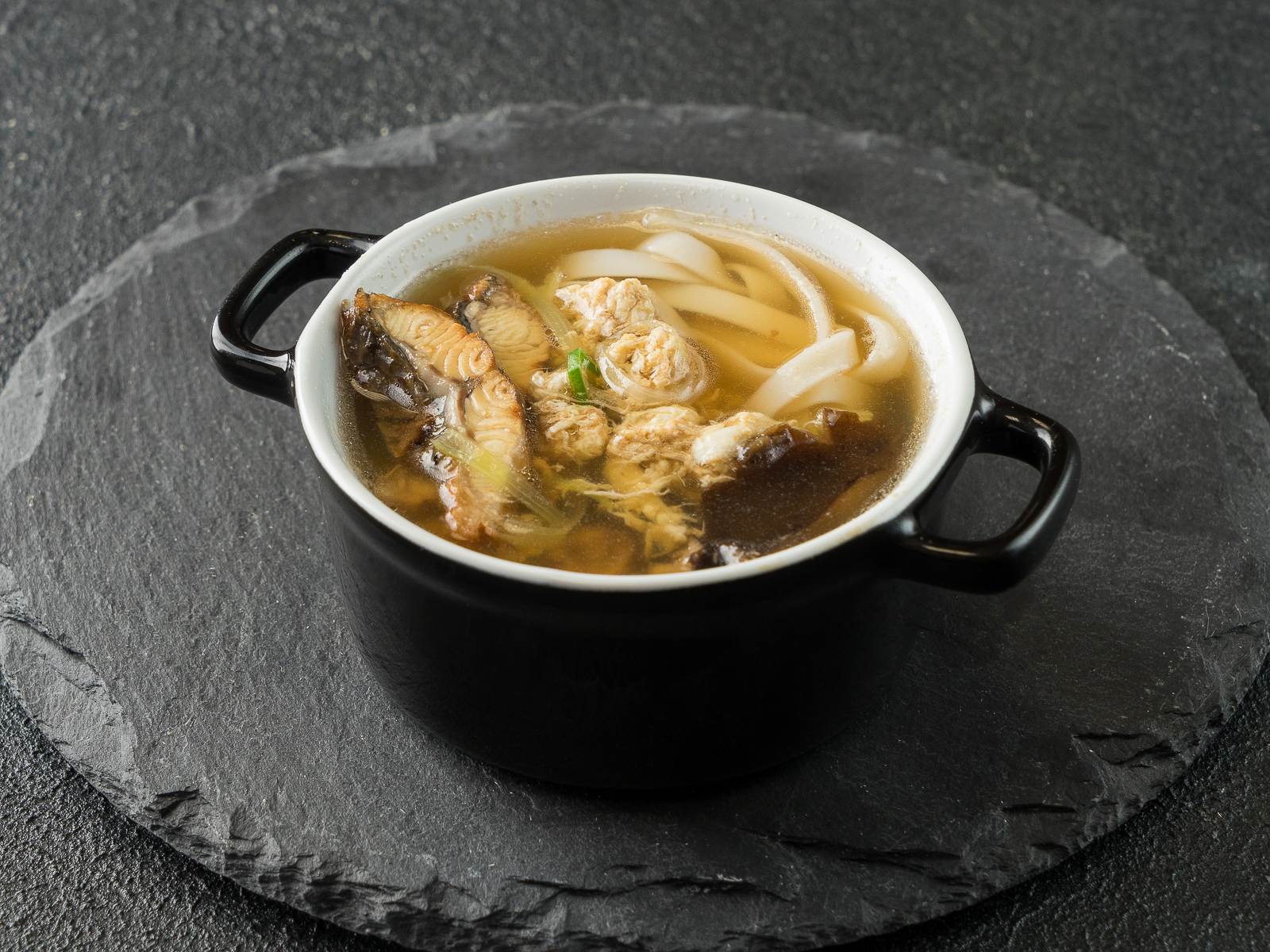 Фиш суп с угрем
