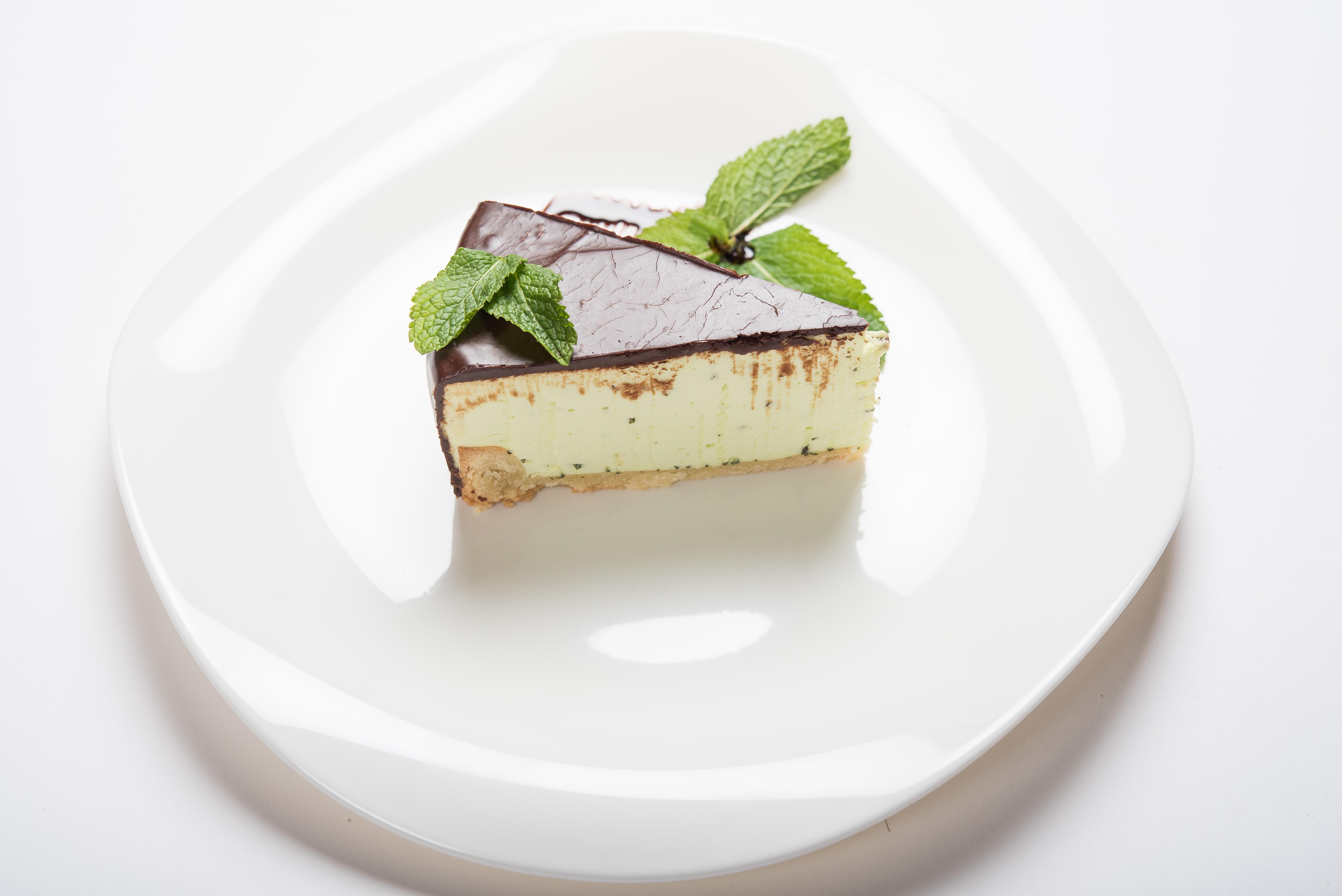 Мятный десерт