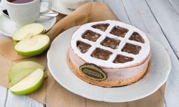 Яблочно-миндальный торт \