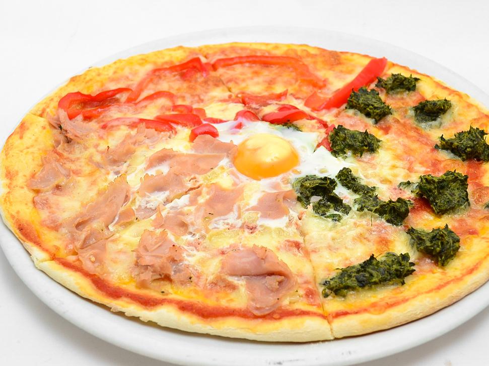 Пицца Три цвета