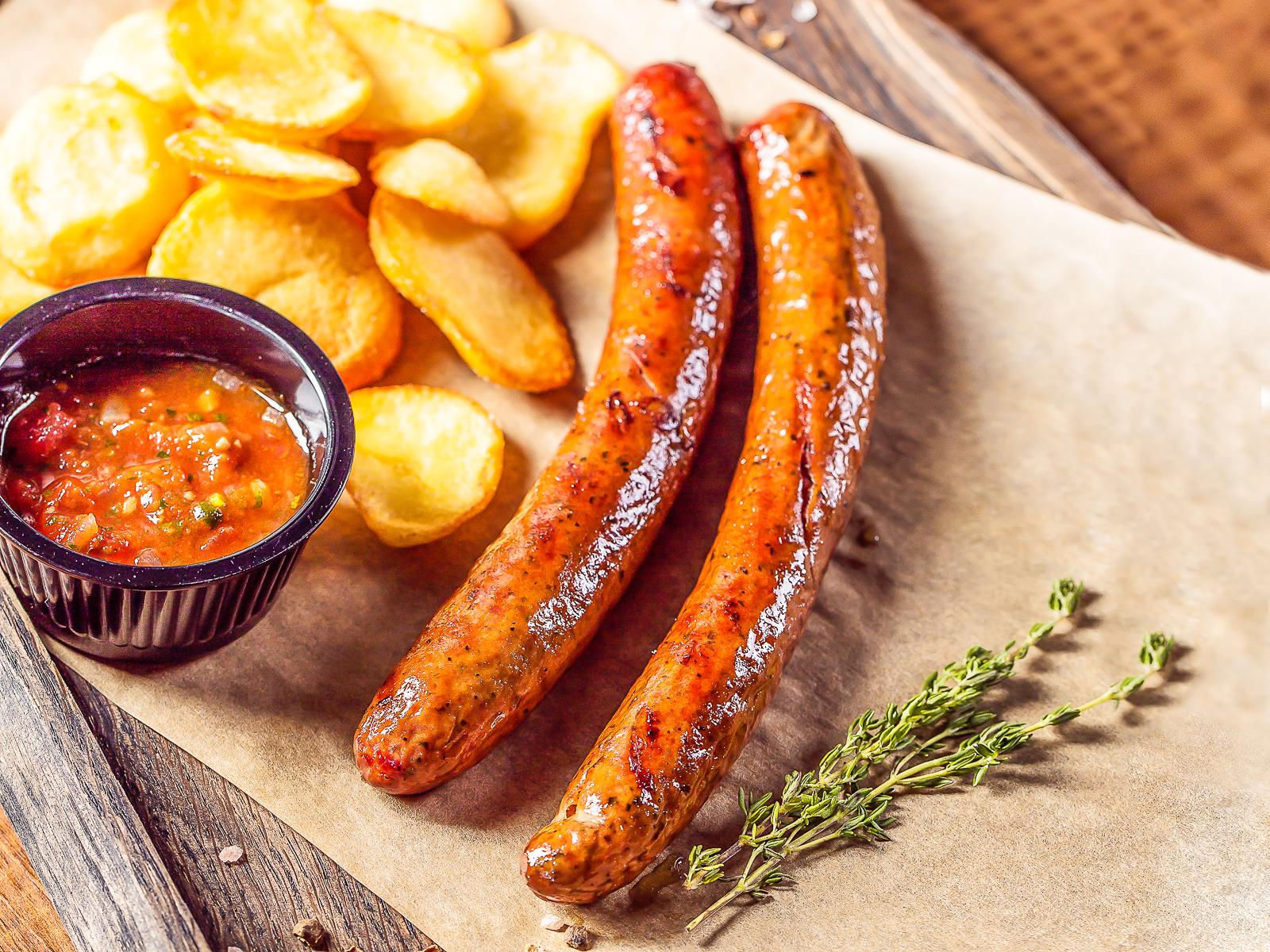 Колбаски из ягненка с эстрагоном