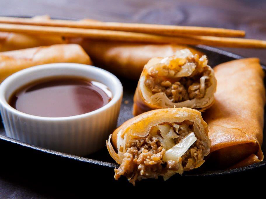 Китайские пирожки с мясом