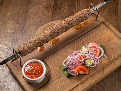 Люля-кебаб из баранины с курдюком