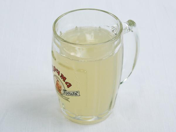 Квас медово-лимонный