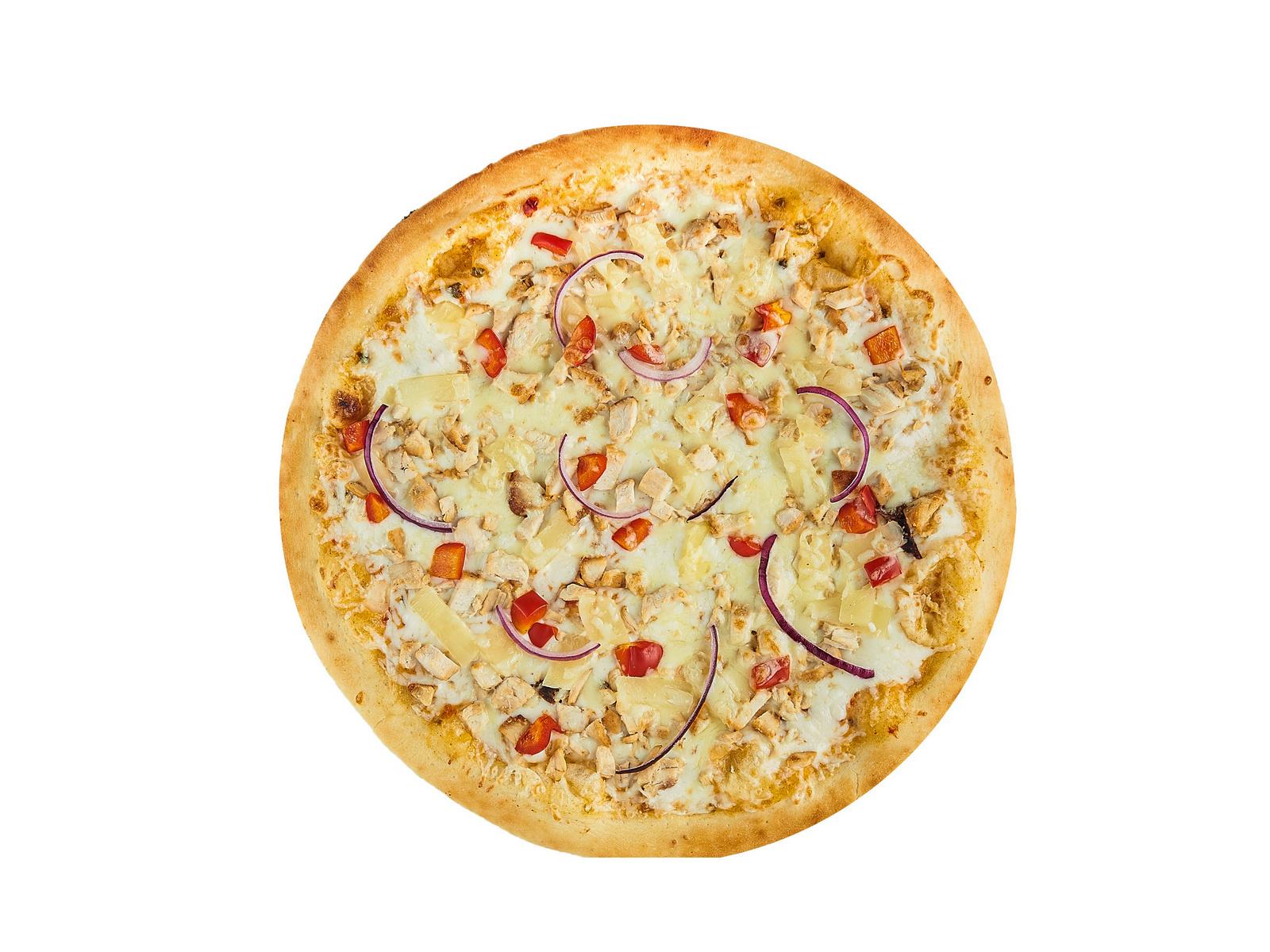 Пицца Чикен Алоха