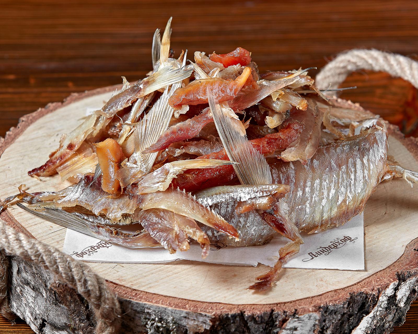 Сезонный микс вяленой рыбы