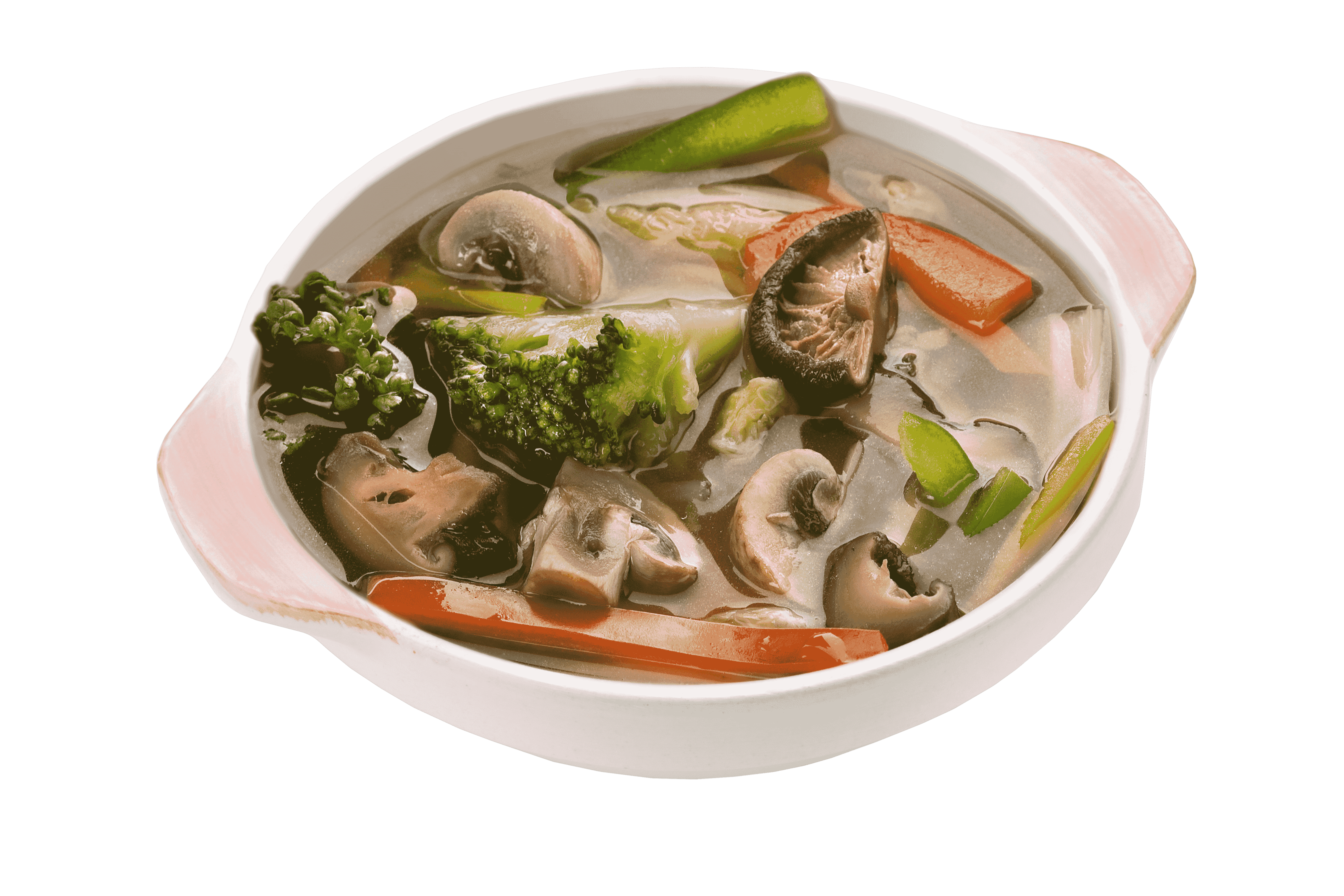 Тайский овощной суп Хед хом
