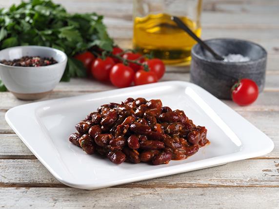 Лобио (фасоль в томатном соусе)