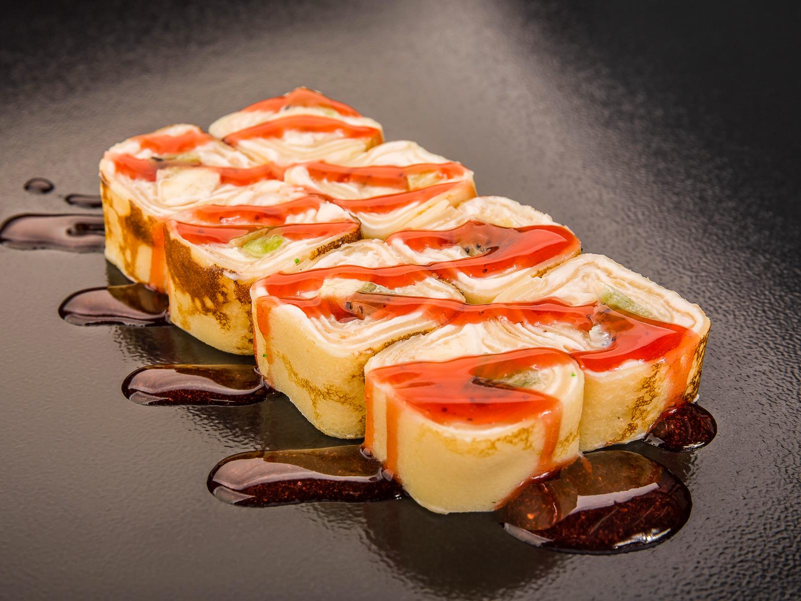 Десертный ролл Санрайз