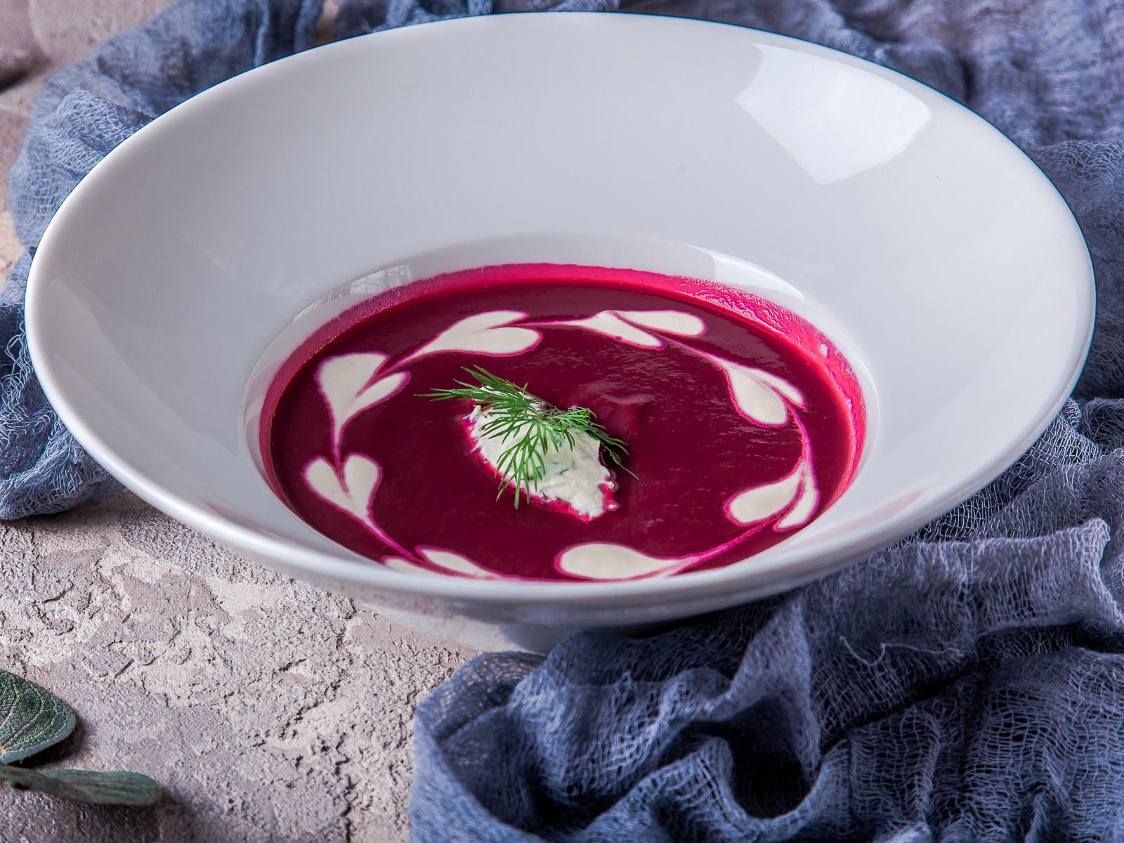 Крем-суп Свекольный